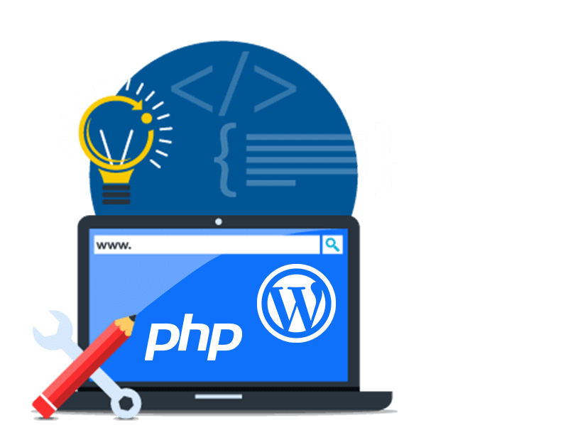 PHP + Wordpress<